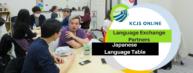 KCJS Online Language Exchange Partners & Japanese Language Table